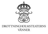 Drottningholmsteaterns Vänner logotyp